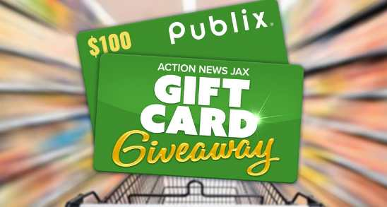 Action News Jax Publix Gift Card Sweepstakes