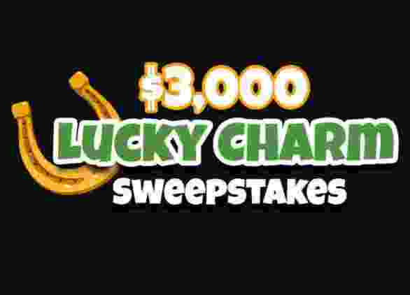 Frankly Media $3,000 Lucky Charm Sweepstakes