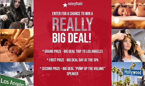 Sexy Hair Big Red Ticket Game