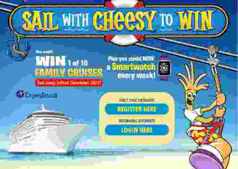 Black Diamond Cheestrings Set Sail with Cheesy Contest