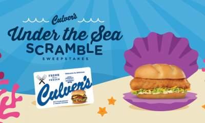 Culver's Under The Sea Scramble Sweepstakes