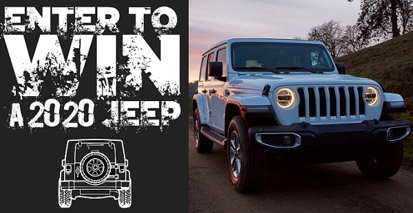Jeep Wrangler Sweepstakes 2020