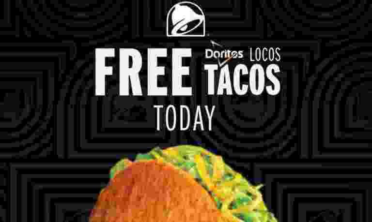 Taco Bell Free Doritos Locos Giveaway