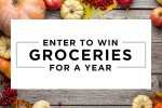 Ibotta Groceries for a Year Giveaway