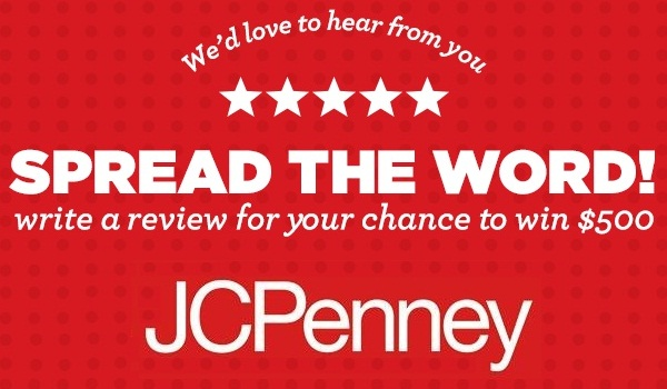 Jcpenney.com Ratings and Reviews Sweepstakes