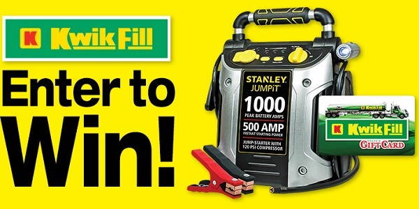 Kwik Fill Jump Start Giveaway