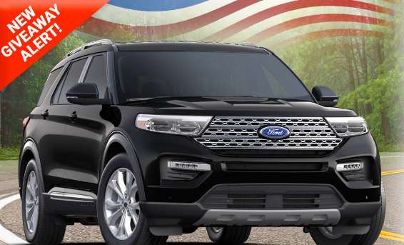 PCH Ford Explorer Giveaway