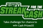 ESPN Streak for Cash Sweepstakes 2020