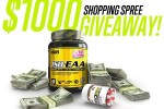 Man Sports Nutrition $1,000 Shopping Spree Giveaway