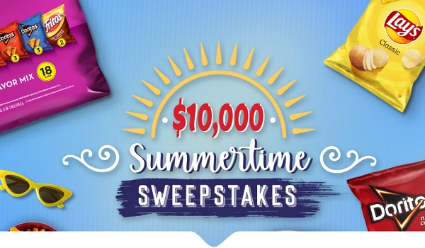 Tasty Rewards Summertime Sweepstakes