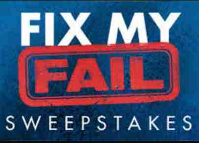 HGTV Fix My Fail Watch & Win Sweepstakes