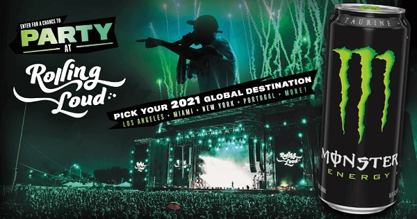 Monster Energy Sweepstakes 2020