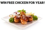 Win Free Chicken for a Year Contest