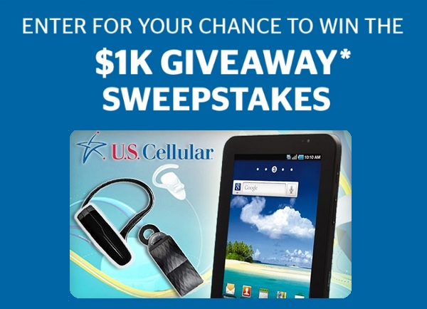 U.S. Cellular $1000 Gift Card Giveaway