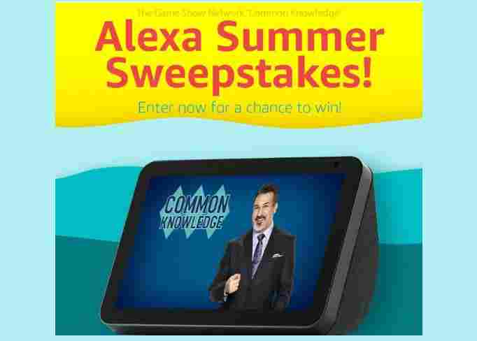 Game Show Network Common Knowledge Alexa Summer Giveaway