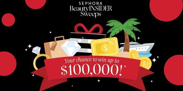 Sephora Beauty Insider Cash Sweepstakes 2020