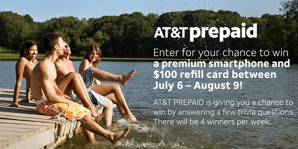 AT&T Prepaid Sweepstakes 2020 (20 Winners)