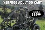 Rural King Go Kart Giveaway