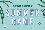 Win Millions of Prizes In Starbucks Summer Game 2020