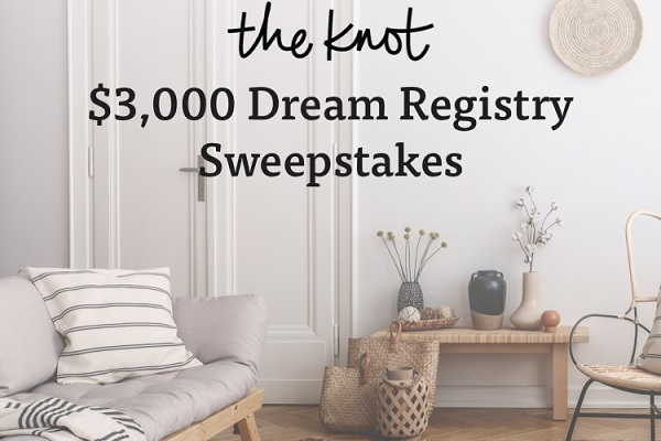 The Knot Sweepstakes 2020: Win Your Dream Registry