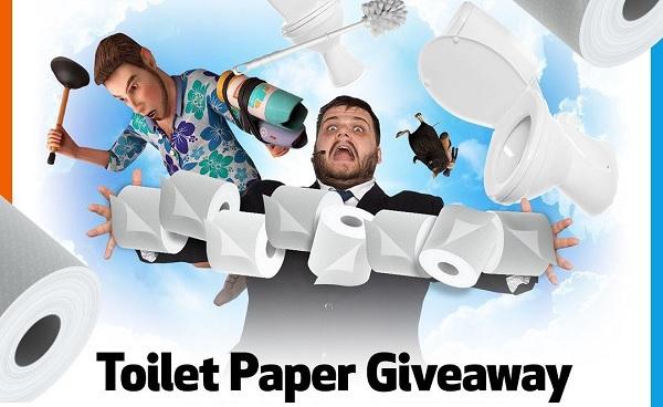 Toilet Paper Giveaway 2020