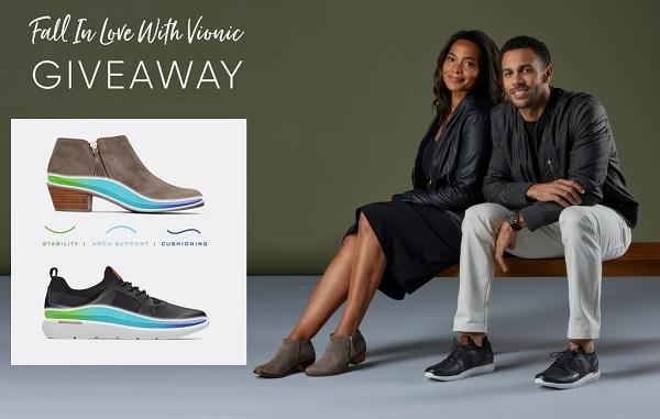 Vionic Shoes Giveaway 2020
