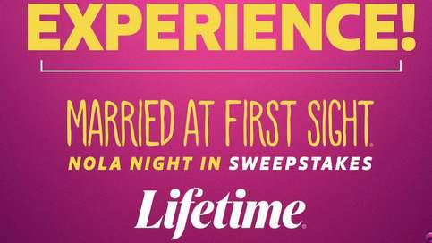Married At First Sight Lifetime's Nola Night In Sweepstakes