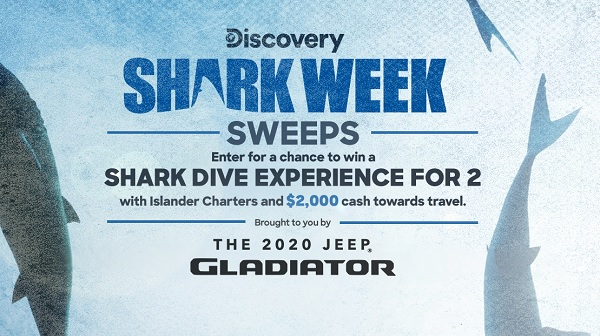 Discovery Shark Week Sweepstakes 2020