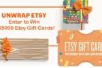 Etsy MasterCard Sweepstakes 2020