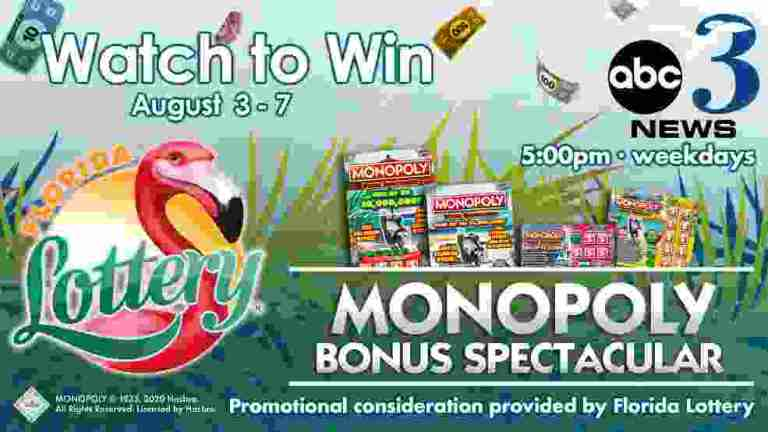 WEAR TV Florida Lottery Monopoly Contest