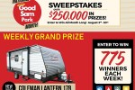 Good Sam Park Month Sweepstakes