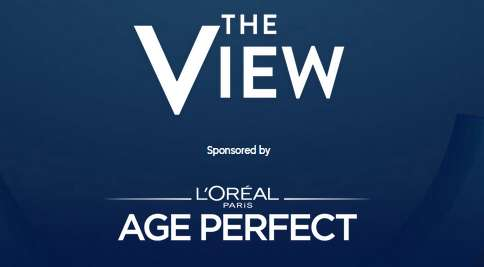 The View and L'Oreal Age Perfect Cosmetics Virtual Audience Giveaway 2020