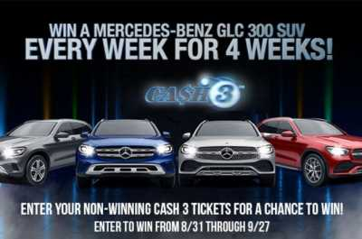 Georgia Lottery Cash 3 Mercedes-Benz Car Giveaway 2020