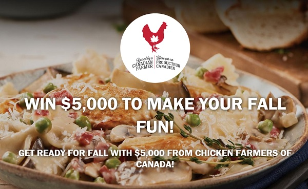 Chicken Farmers of Canada Fall Cash Sweepstakes 2020