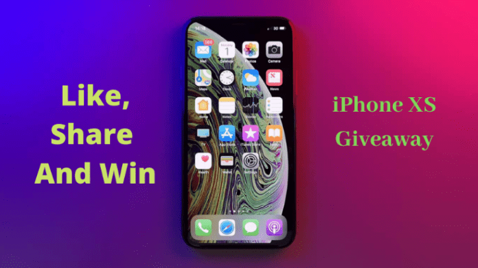 Free iPhone XS Giveaway Contest 2020