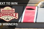 Johnsonville Cornhole Board Text To Win Sweepstakes 2020