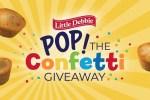 Little Debbie Pop the Confetti Giveaway 2020