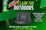 Mountain Dew: Claim the Outdoors Chase Elliott Sweepstakes 2020