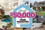 Ultimate $50,000 Home Makeover Sweepstakes 2020
