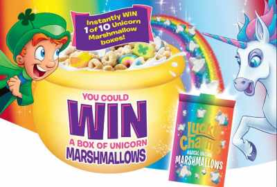 Lucky Charms Lucky Marshmallows Contest