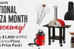BBQGuys National Pizza Month Giveaway 2020