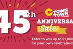 CTown Anniversary Sweepstakes 2020