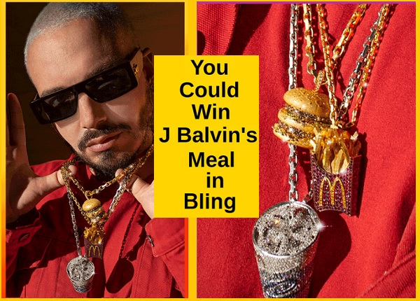 J Balvin x McDonald's Sweepstakes 2020