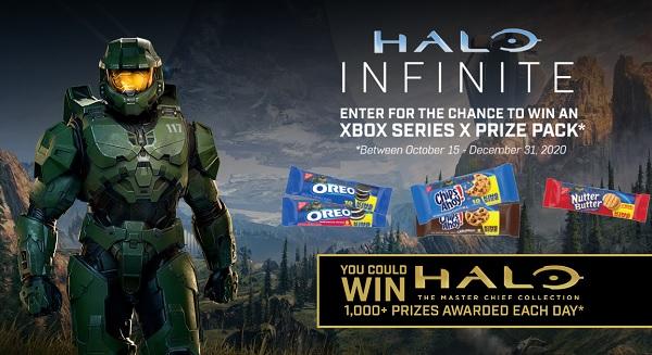 Nabisco Halo Infinite Sweepstakes 2020