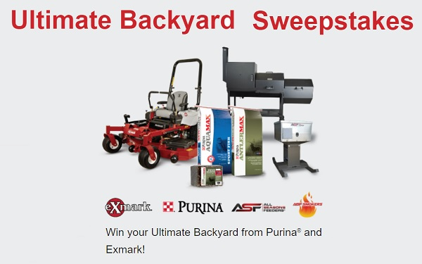 Purina Ultimate Backyard Sweepstakes
