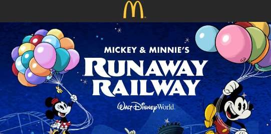 McDonald's Hop Aboard to Win Sweepstakes