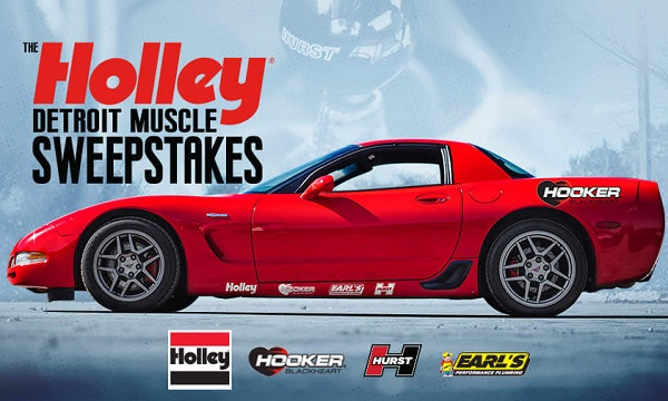Holley Muscle Car Sweepstakes