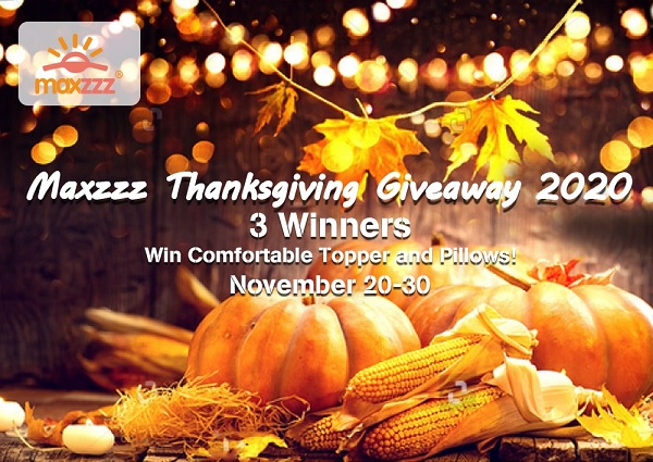 Maxzzz Thanksgiving Giveaway