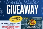 Bass Master Winter Giveaway