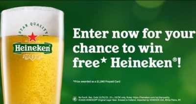 Heineken Star Quality Sweepstakes